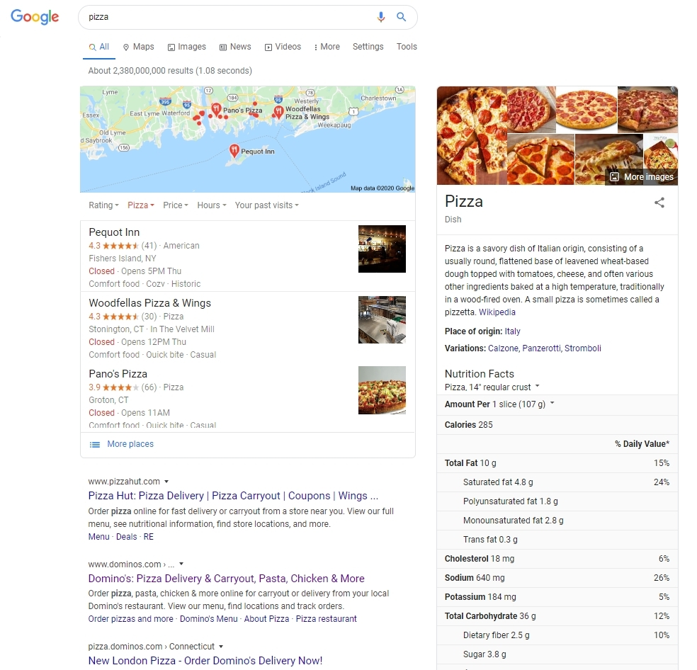 google local search simulator